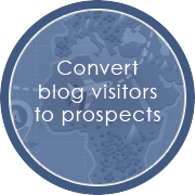 Convertblog visitors to prospects